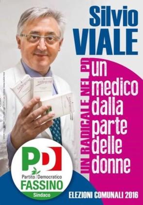 Silvio Viale candidato del PD